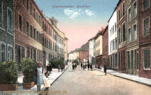 Grevenmacher, Grand Rue