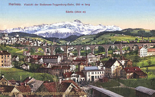 Herisau, Viadukt der Bodensee-Toggenburg-Bahn