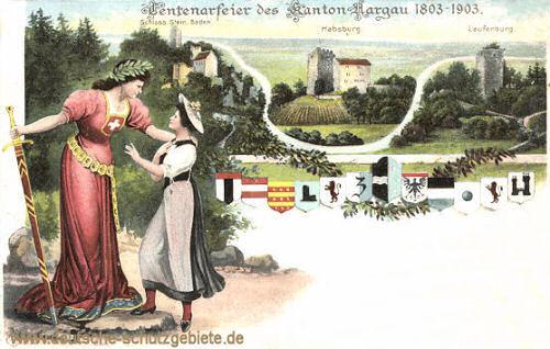 Kanton Aargau Jahrhundertfeier 1903