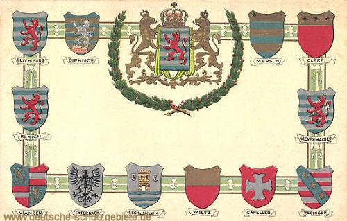 Luxemburg, Stadtwappen