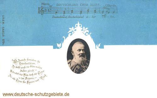 Prinzregent Luitpold und die Landesfarben Bayerns