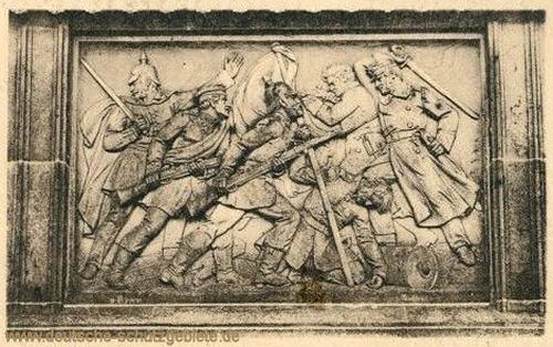 Düppeldenkmal, Relief 2
