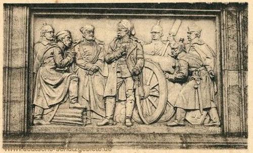 Düppeldenkmal, Relief 4