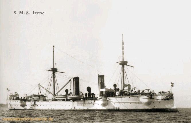 S.M.S. Irene, Kleiner Kreuzer