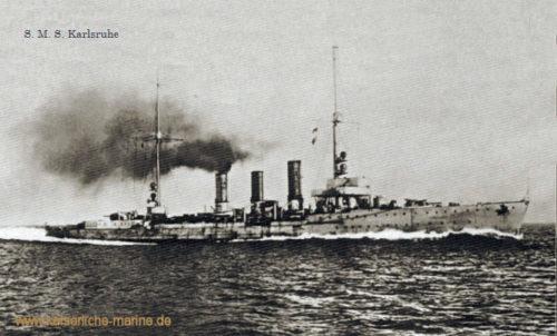 S.M.S. Karlsruhe, Kleiner Kreuzer (1916)