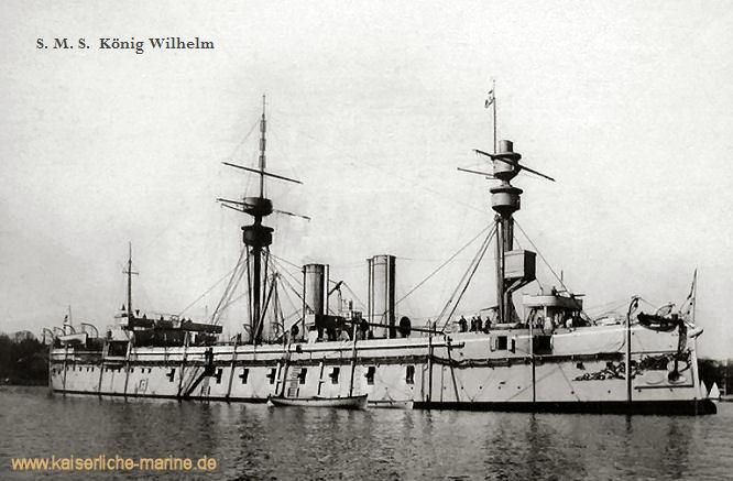 S.M.S. König Wilhelm, Panzerfregatte