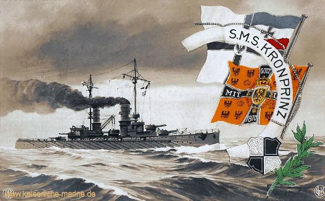 S.M.S. Kronprinz, Linienschiff