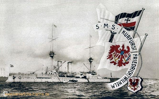 S.M.S. Kurfürst Friedrich Wilhelm, Panzerschiff