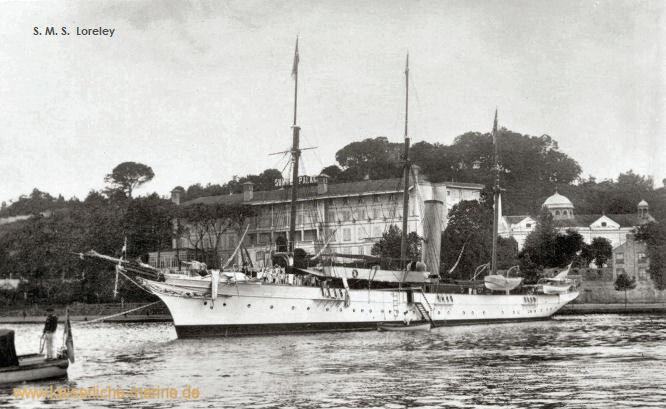 S.M.S. Loreley, Spezialschiff