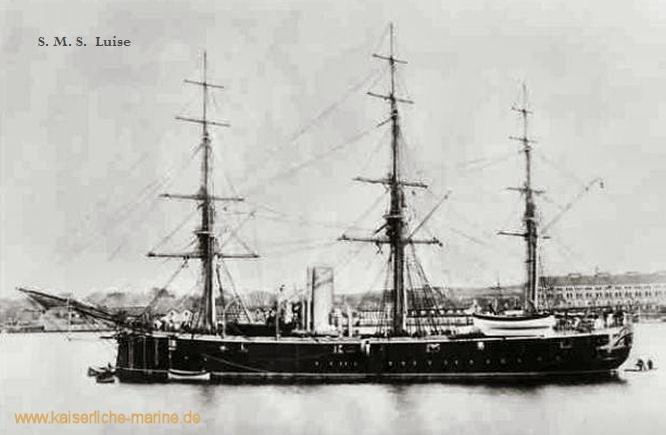 S.M.S. Luise, Korvette