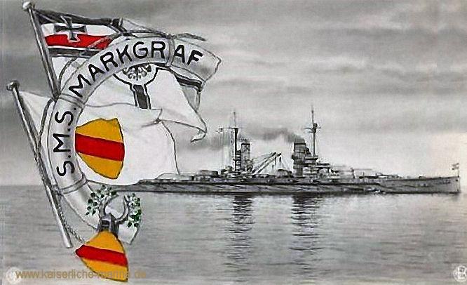 S.M.S. Markgraf, Linienschiff