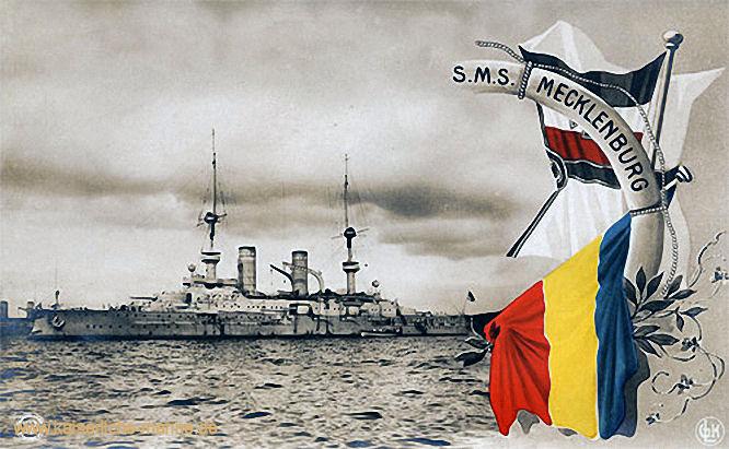 S.M.S. Mecklenburg, Linienschiff