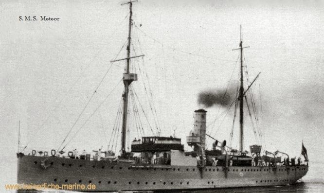 S.M.S. Meteor, Kanonenboot