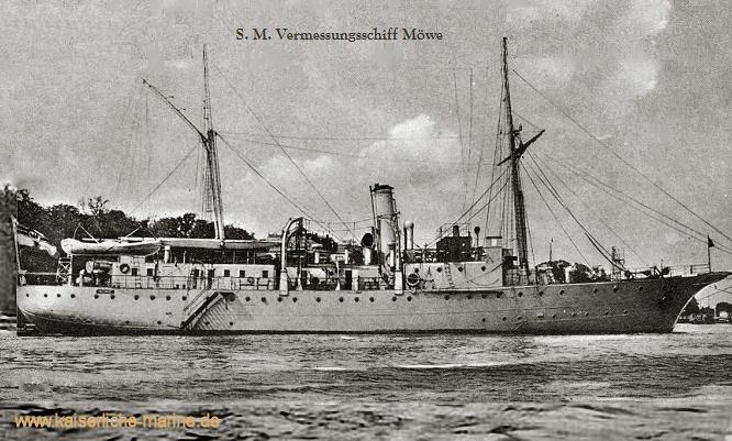 S.M.S. Möwe, Vermessungsschiff