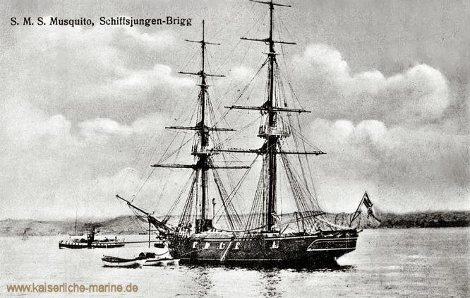 S.M.S. Musquito, Brigg