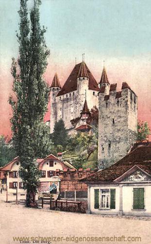Thun, die Burg