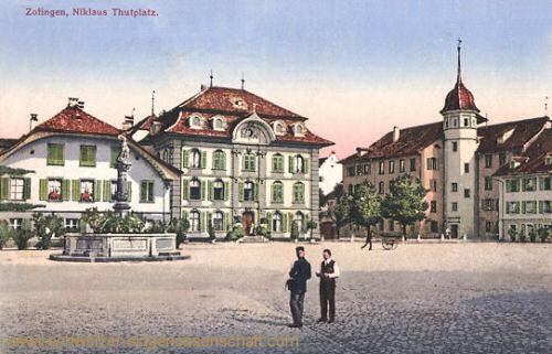Zofingen, Niklaus Thutplatz