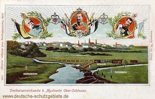 Dreikaiserreichsecke bei Myslowitz