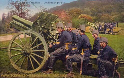 Schweizer Armee, Artillerie-Haubitze