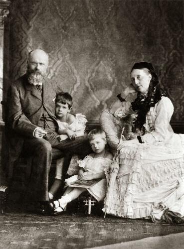 König Karl und Königin Olga von Württemberg