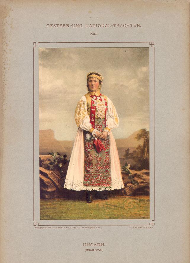 Trachten Ungarn (Csakova)