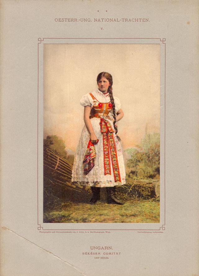 Trachten Ungarn (Békéser Comitat Ort Békés)