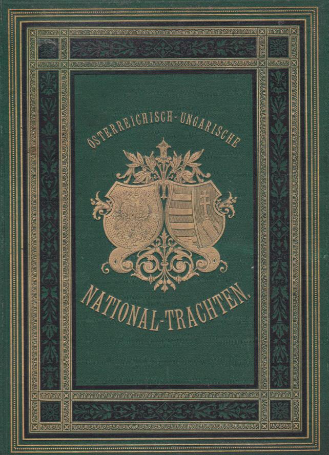 österreichisch-ungarische National-Trachten, Cover