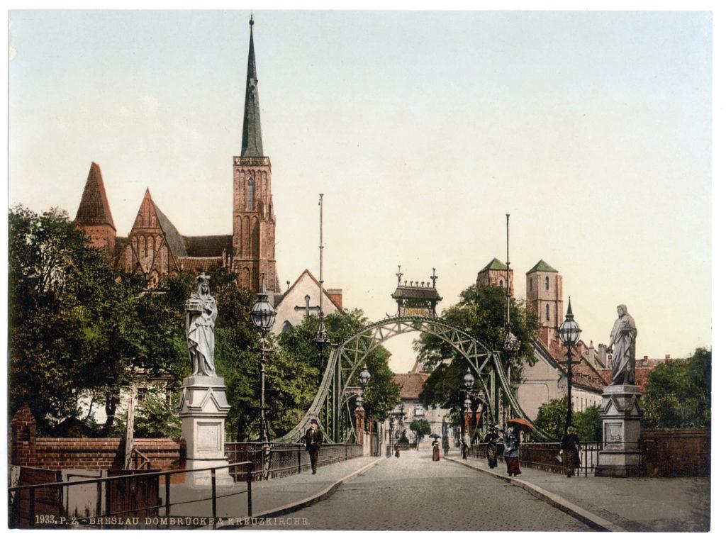 Breslau Dombrücke & Kreuzkirche