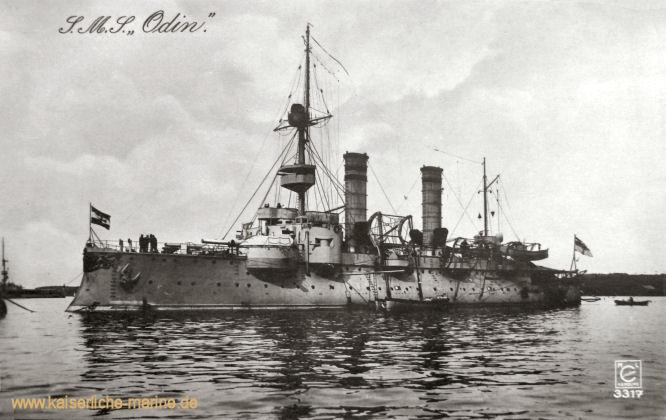 S.M.S. Odin, Küstenpanzerschiff