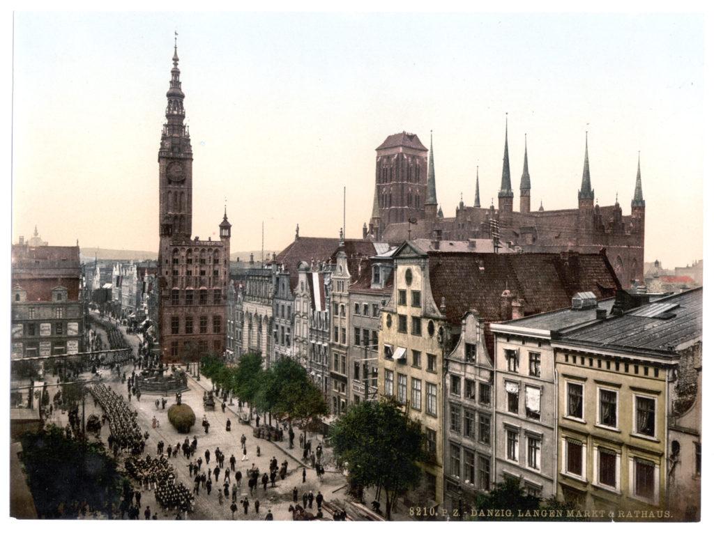 Danzig Langen Markt & Rathaus