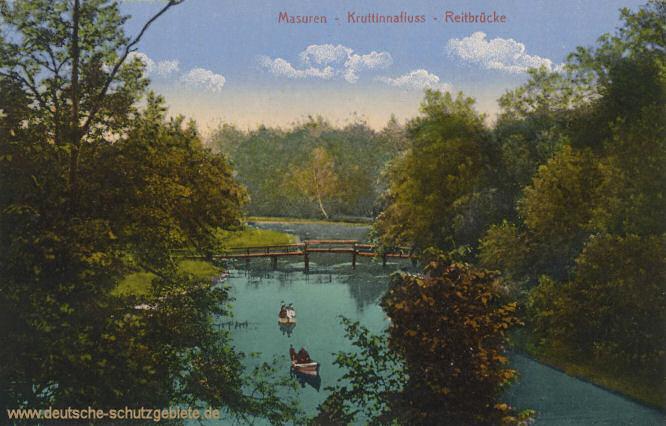 Masuren, Kruttinnafluss - Reitbrücke