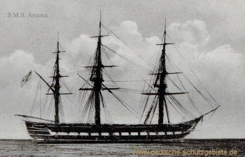 S.M.S. Arcona, 1858