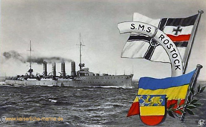 S.M.S. Rostock, Kleiner Kreuzer