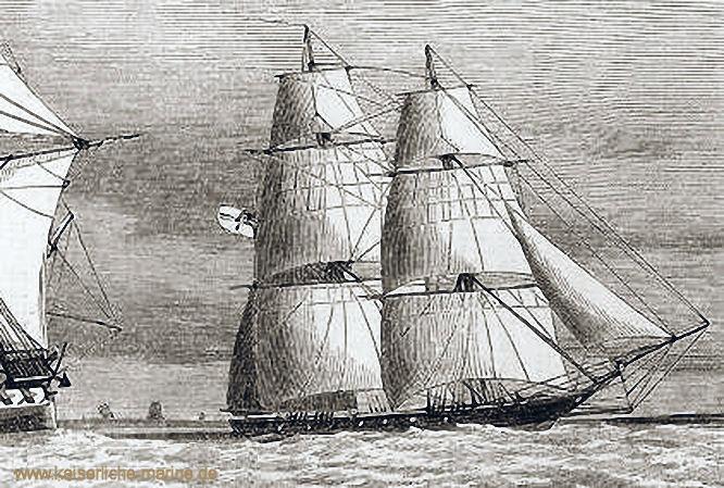 S.M.S. Rover, Brigg