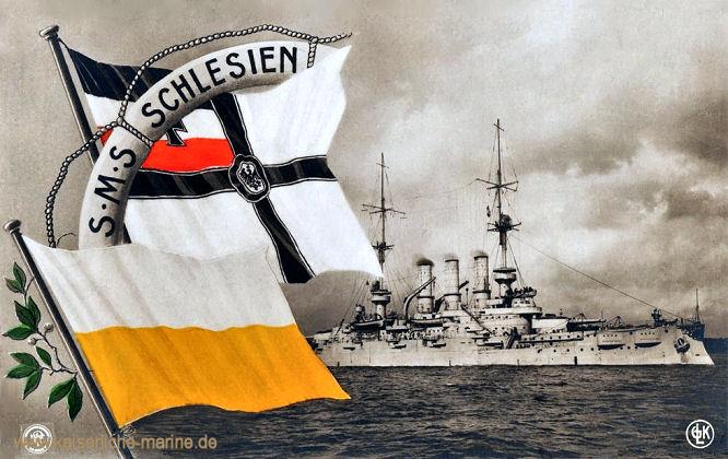 S.M.S. Schlesien, Linienschiff