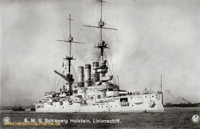 S.M.S. Schleswig-Holstein, Linienschiff