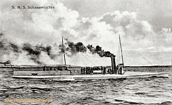 S.M.S. Schneewittchen, Torpedoboot