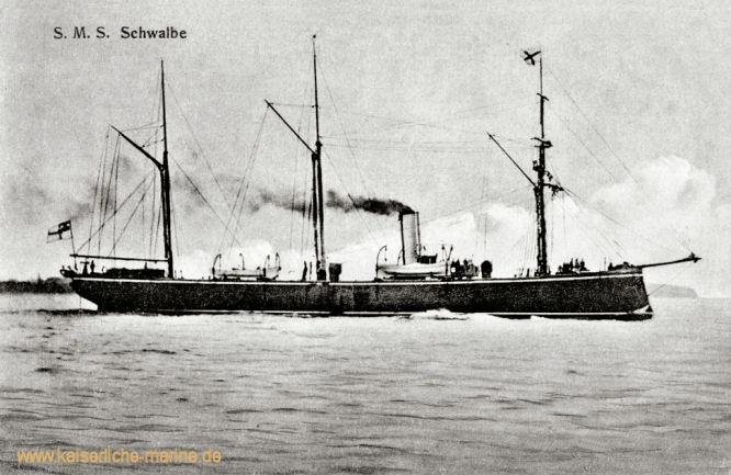 S.M.S. Schwalbe, Kleiner Kreuzer