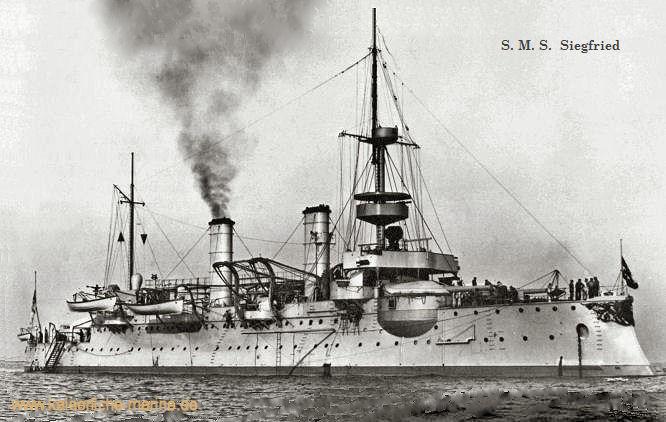 S.M.S. Siegfried, Küstenpanzerschiff