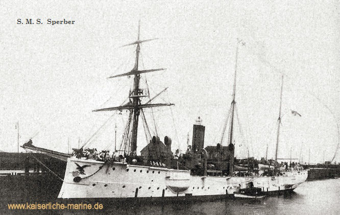 S.M.S. Sperber, Kleiner Kreuzer