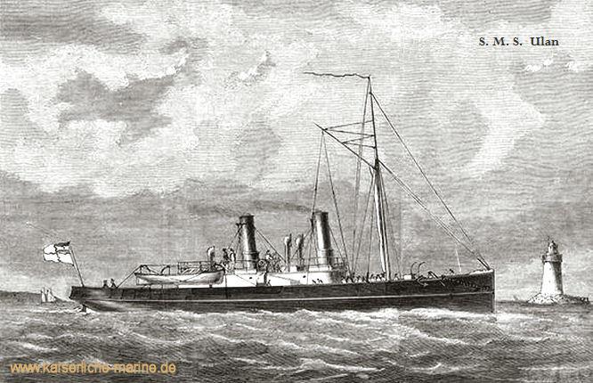 S.M.S. Ulan, Torpedodampfer