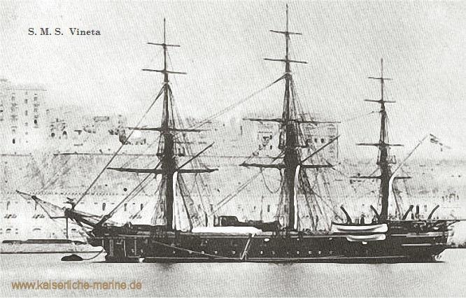 S.M.S. Vineta, Korvette