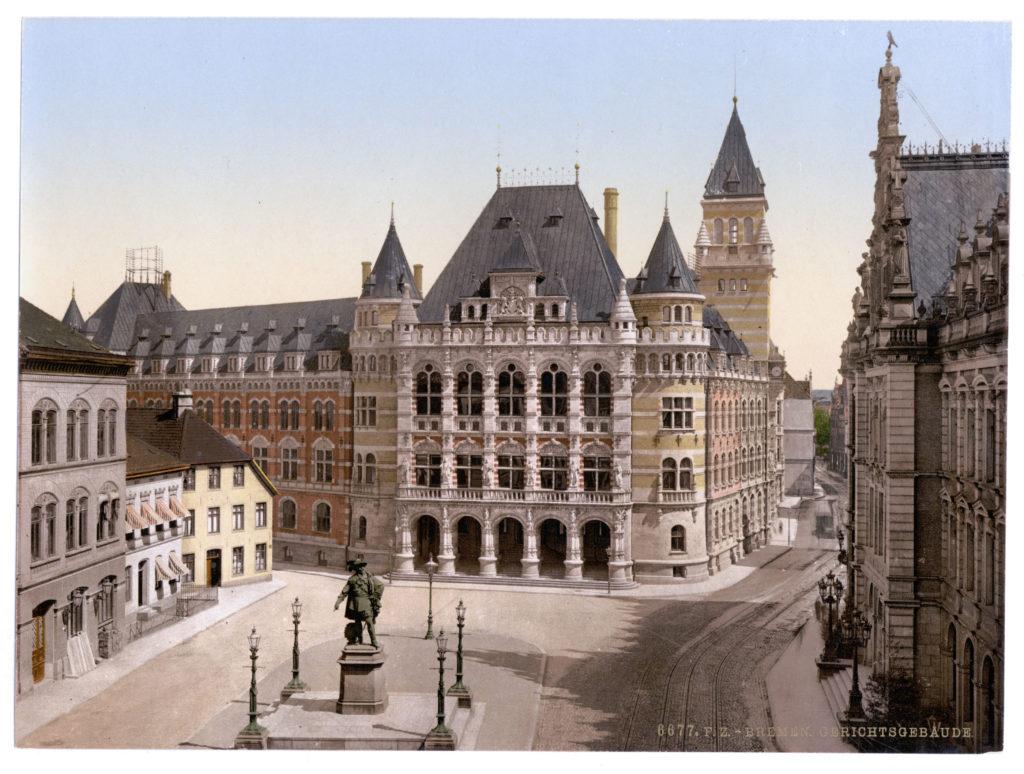Bremen Gerichtsgebäude