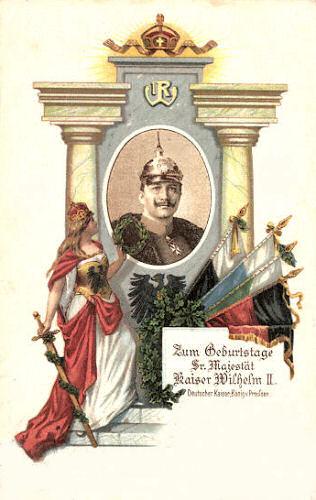 Zum Geburtstage Sr. Majestät Kaiser Wilhelm II.