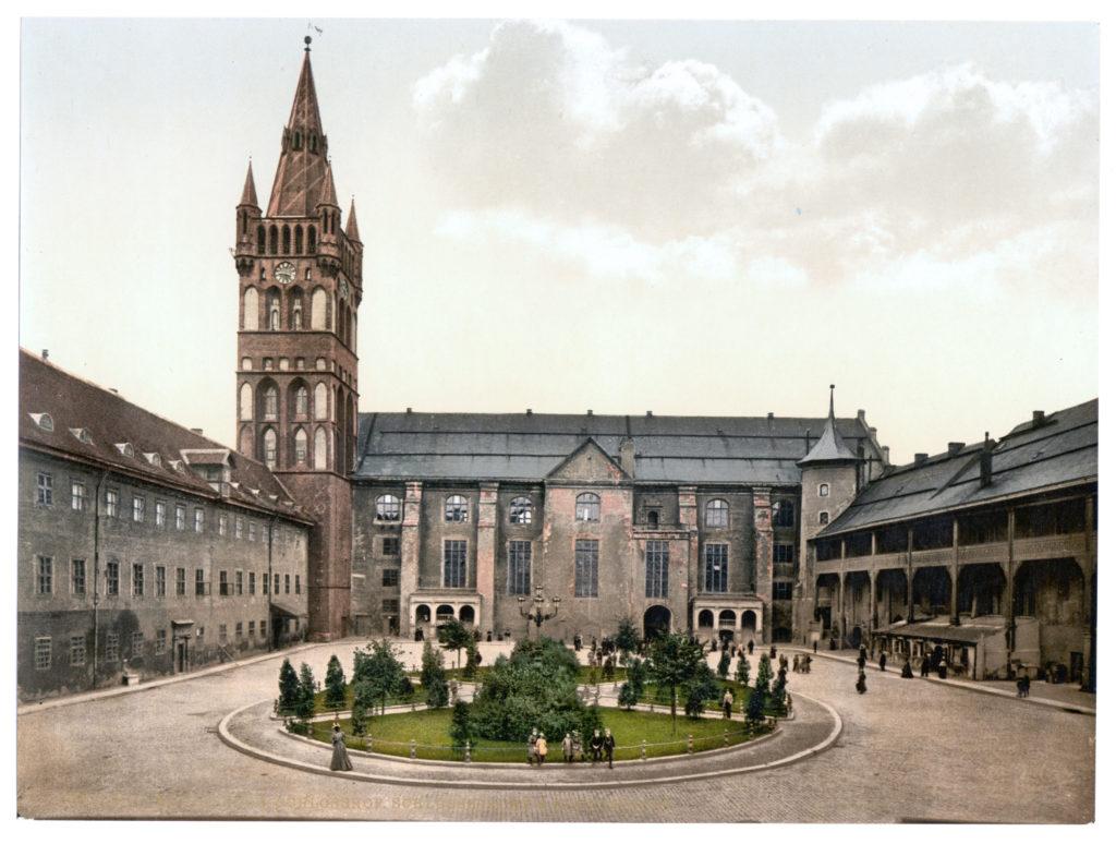 Königsberg Schlosshof Schlosskirche & Blutgericht