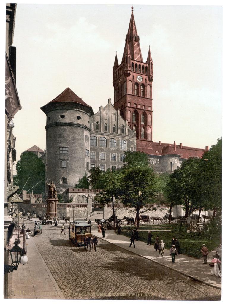 Königsberg Schlossturm & Kaiser Wilhelm I.