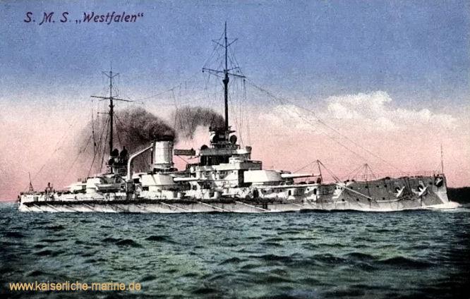 S.M.S. Westfalen, Linienschiff