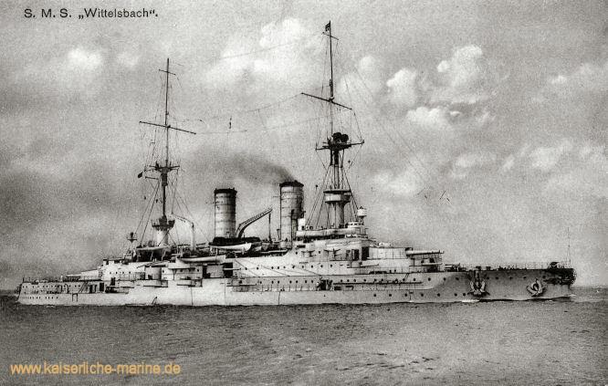 S.M.S. Wittelsbach, Linienschiff
