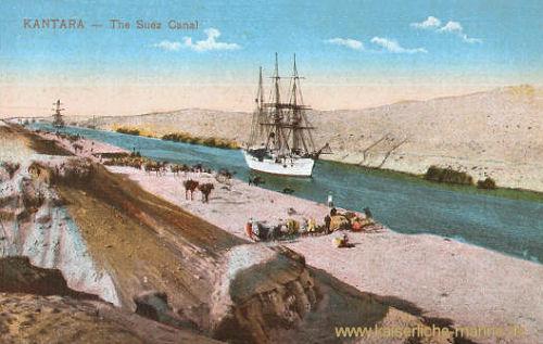 Kantara, Suezkanal