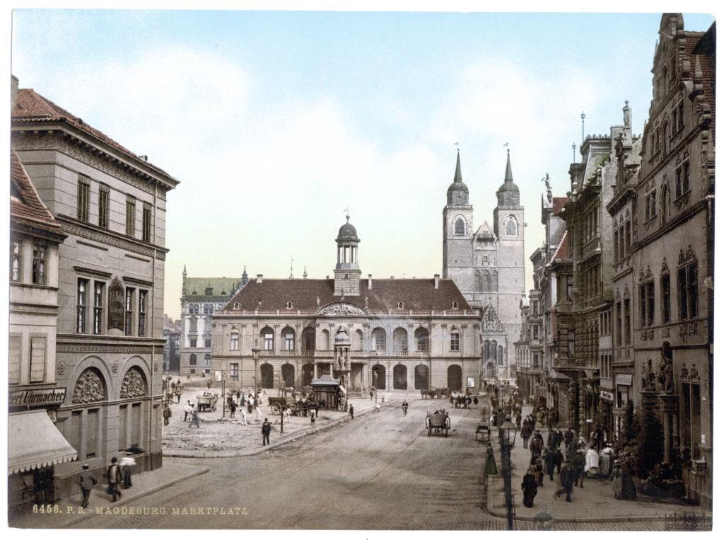 Magdeburg. Marktplatz